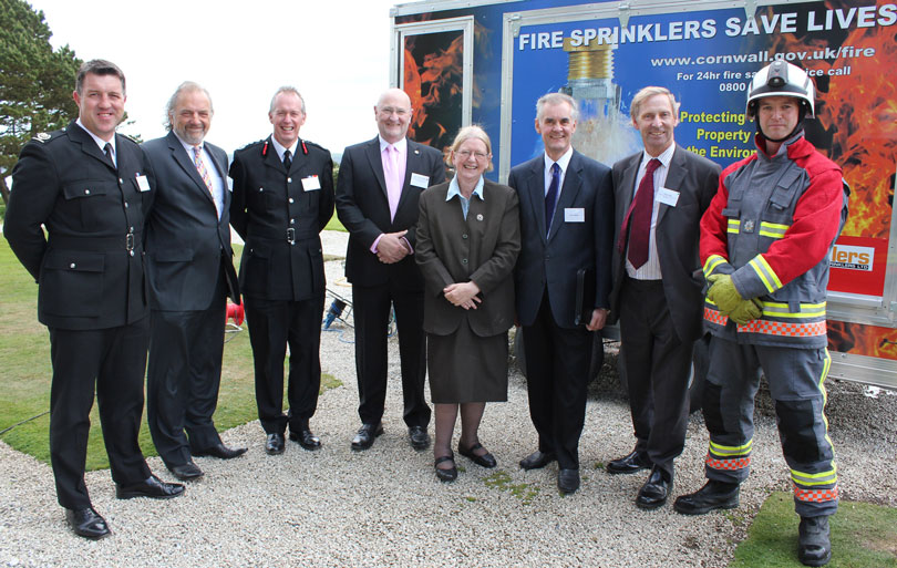 Cornwall Council Fire Sprinklers